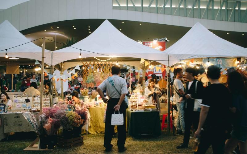 台北市集擺攤